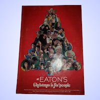 at EATON'S Christmas is for people  Catalogue Catalog 1970