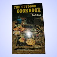 The Outdoor Cookbook Hard Cover by Jack Cox Illustrated