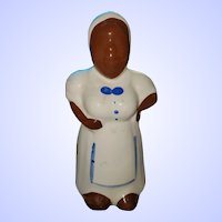 Collectible Pottery Still Coin Bank Black Americana Aunt Jemima