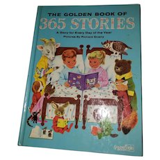 HARD Cover Children's Book The Golden Book of 365 Stories Richard Scarry