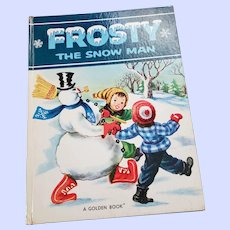 Over Size Hard Cover Children's Book FROSTY The Snow Man