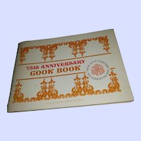 VTG Soft Cover 75th Anniversary Cook Book 1904-1979 Edmonton