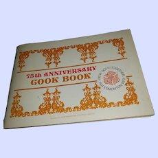 VTG Soft Cover 75th Anniversary Cook Book 1904-1979 Edmonton