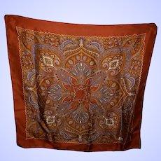 LIBERTY Of London Silk Paisley Pattern Scarf Wearable Art