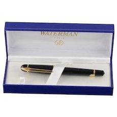 Waterman Paris Black Fountain Pen