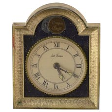 Base Metal Vintage Seth Thomas Desk Alarm Clock