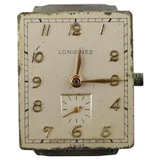 Vintage Longines 17 Jewel Mechanical Watch Movement    [QWXP]
