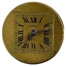 Vintage Gruen Mechanical Wrist Watch Movement    [QWXP]