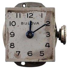 13mm Bulova Ladies Vintage 17 Jewel Mechanical Wrist Watch    [QWQX]