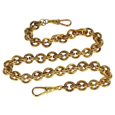 Cable Link Chain Fancy Watch Fob [QPQX]