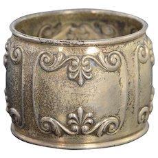 Silver Ornate Napkin Ring    [QPQQ]