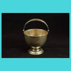 Sterling Silver Art Deco Tiffany & Co. Monogram Sugar Basket Fine Silver   [QRXF]