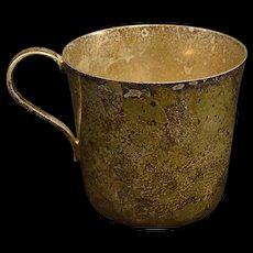 Sterling Tiffany & Co 23498 Baby Cup Mug Fine Silver   [QRXF]