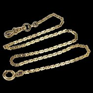 2.3mm Pressed Cable Link Pocket Watch Chain Watch Fob [QRXW]