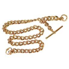Ornate Embossed Curb Chain Watch Fob [QRQX]
