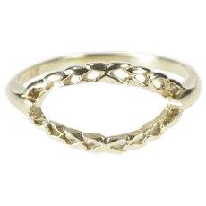 Nice Loving Heart Sterling Silver 925 Open Scroll Work Ring Size 7 5 Poplar