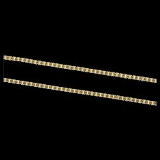 "14K 0.9mm Square Classic Simple Box Link Necklace 18"" Yellow Gold [CXXS]"
