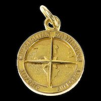 14K Washington Metropolitan Airport Authority Charm/Pendant Yellow Gold [CXQQ]