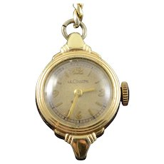 LeCoultre 18mm Round Vintage Women's Watch [QWXC]