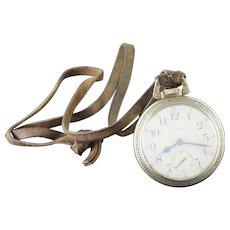 Waltham 1907 55mm Case 21 Jewel 18s Grade 845 Pocket Watch [QWXC]