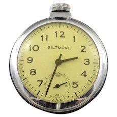 Biltmore Vintage 'Dollar' 50mm Pocket Watch [QWXC]