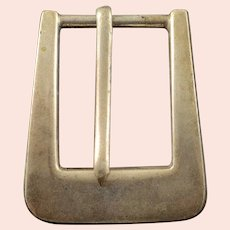 925Sterling Silver Mexican Belt Buckle    [QWXK]