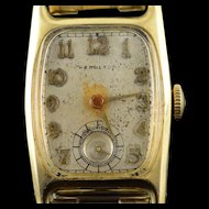 Hamilton 19 Jewel Vintage Grade 982 Wrist Men's Watch [QPQX]