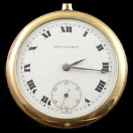 Stuyvesant Swiss 48mm Case 7 Jewel  Pocket Watch [QPQQ]