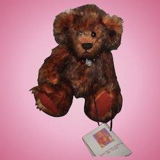 """Charming 9"""" Mohair Teddy Bear """"Bernice"""" Artist Bear"""