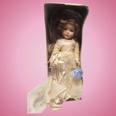 "Vintage Arranbee R&B Gorgeous ""Nancy Lee Bride Doll"" In Original Box, Outfit 14"" Circa 1938"