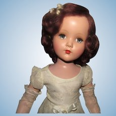 """Stunning NM Condition Vintage Composition Arranbee R&B Gorgeous """"Nancy Lee Doll"""" Wrist Tag  20"""" Circa 1938"""
