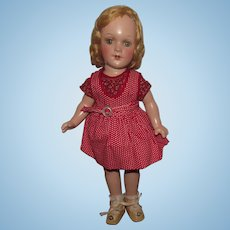 "Vintage Composition Arranbee R&B Gorgeous ""Arranbee Debu'teen doll"" 13"" Circa 1938"