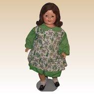 "Vintage Effanbee HTF ""Marilee Doll"" In Original Vintage Dress 23"" tall circa 1928 (Lot-B)"