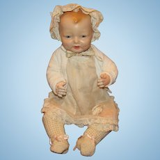 "Gorgeous Vintage Effanbee Large ""Bubbles Doll"" 24"" tall Circa 1925 (B)"