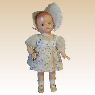 Effanbee Beautiful Vintage Patsy Ann Doll Circa 1930's