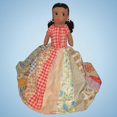 Old Wonderful Cloth Rag Topsy Turvy Doll