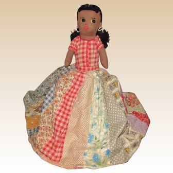 Old Wonderful Cloth Rag Topsy Turvy Doll
