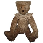 "Adorable Large OOAK Mohair Bear ""Sophie"" Artist Kathy Mullin 20"" Hump On Back"