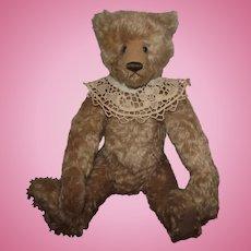 "Adorable Large OOAK Mohair Bear ""Sophie"" Artist Kathy Mullin 20"" Hump On Back"