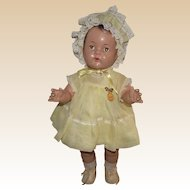 "Vintage Madame Alexander Rare Large Dionne Quint Toddler ""Annette"" With Tag Outfit 20"" Tall Circa 1935"
