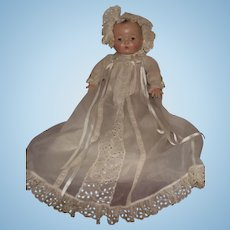 """Vintage Madame Alexander """"Pinkie Doll"""" Adorable Wearing a Tagged Little Genius Outfit 16"""" Circa 1936"""