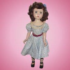 "Vintage Gorgeous Madame Alexander Doll ""BINNIE WALKER"" In Original Tagged Outfit 18"" Circa 1953 (C)"