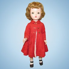 "Vintage Gorgeous Madame Alexander Doll ""BINNIE WALKER"" In Original Tagged Outfit 18"" Circa 1953"