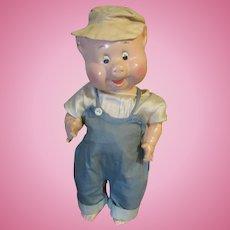 Madame Alexander Rare & HTF All Composition Pig Doll Circa 1933