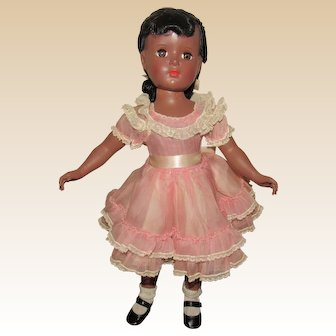 "Gorgeous Vintage Rare Madame Alexander Doll ""Cynthia"" In Orig Tagged Dress 18"" Circa 1952"