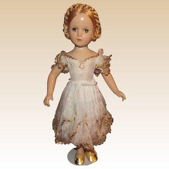 "Stunning Rare Madame Alexander 21"" ""Karen Ballerina Doll"" Circa 1940's"