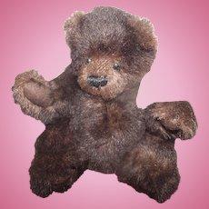 "Sweetest Brown Mohair Jointed Teddy Bear ""Nicholas"" 8"""