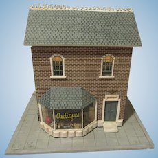 Old Two Level Store With Six Rooms Filled With Wonderful Miniatures