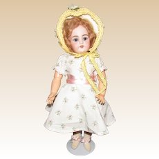 """Beautiful 18"""" German Bisque Simon & Halbig 1079 Dolly Face"""