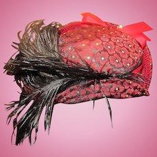 Lovely Vintage Doll hat